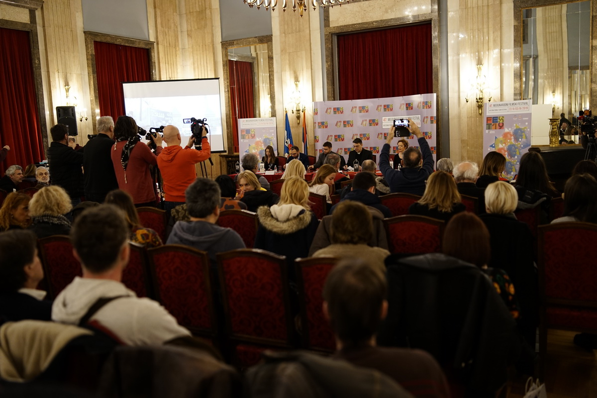 The First Press Conference of the 47th FEST was Held